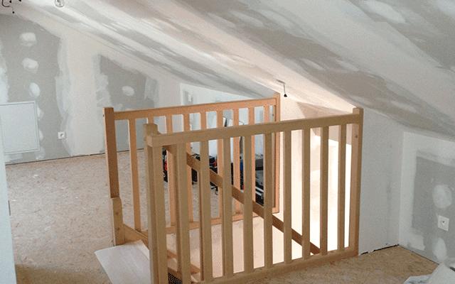 amnagement combles maison phenix amenagement de combles. Black Bedroom Furniture Sets. Home Design Ideas