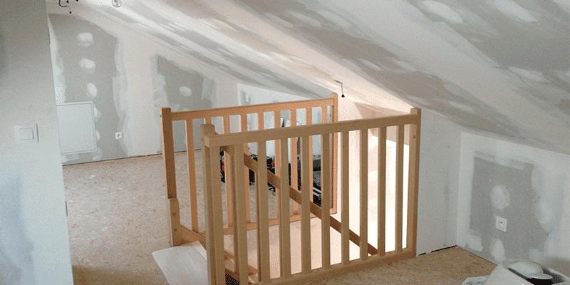 am nagements de combles pour maisons charpente bois. Black Bedroom Furniture Sets. Home Design Ideas
