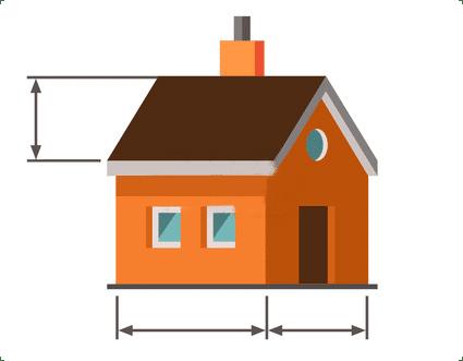 Dimensions maisons